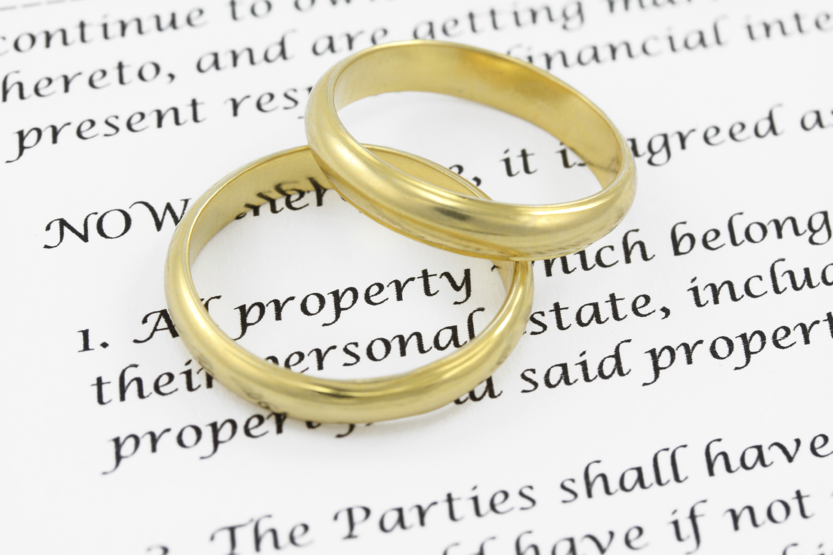 No Prenuptial Agreement in Christ